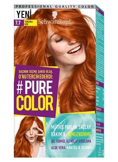 Pure Schwarzkopf Pure Color Saç Boyası 7.7 Tarçınlı Kek Kahve